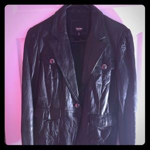 Black leather Jacket!!!